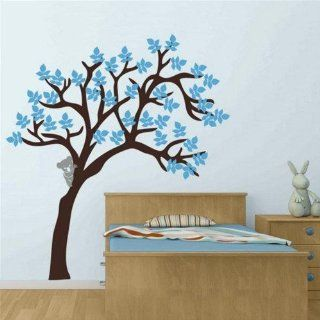 Special Koala Bear Climb Tree Branch Leaf Leaves Home Art Decals Wall Sticker Vinyl Wall Decal Stickers Living Room Bed 698   Wall Decor Stickers