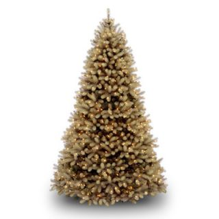 National Tree Co. Dunhill Fir 7.5 Green Hinged Artificial Christmas
