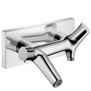 AXOR Axor 12410001 Starck Organic Thermostatic Tub Filler Wall Mounted Chrome   Single Handle Tub Only Faucets