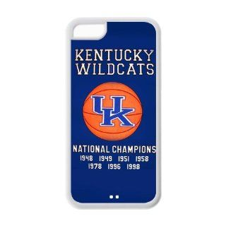 University of Kentucky Wildcats championship banners jersey Rupp Arena University of Kentucky Wildcats Iphone 5C Custom Personalized Cover TPU Case Electronics