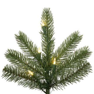 Vickerman 7.5 Green Kennedy Fir Slim Artificial Christmas Tree with