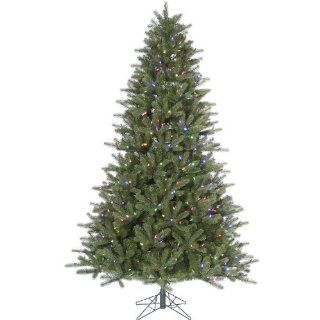7.5' Pre Lit Kennedy Fir Artificial Christmas Tree   Multi Color LED Lights