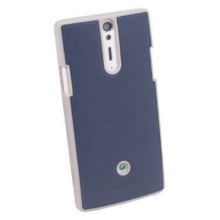 HIGH QUALITY TPU RUBBER HARD COVER CASE FOR SONY XPERIA S LT26i Arc HD BLUE Cell Phones & Accessories