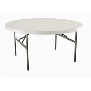 Lifetime 60 Round Commercial Grade Table in Almond