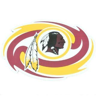 NFL Washington Redskins Sport Car Refrigerator Jumbo Magnet Licensed Memorabilia  Sports Related Magnets  Sports & Outdoors