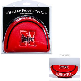 Team Golf University of Nebraska Cornhuskers Mallet Putter Cover (637556224316)