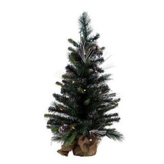 Green Mixed Pine Artificial Christmas Tree with 35 Clear Lights