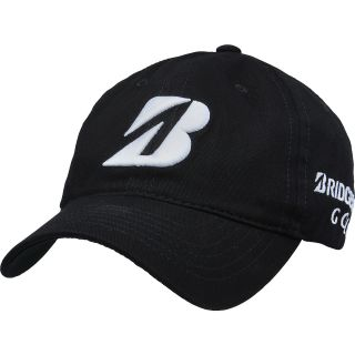 BRIDGESTONE Mens Tour Relax Golf Cap   Size Adjustable, Black