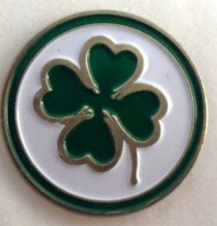 Metal Golf Ball Marker Four Leaf Clover Single Marker Only  Sports & Outdoors