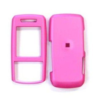 Solid Hot Pink Case Cover for Brand Samsung SGH A737 A 737 Protective Cell Phone Hard SNAP ON Cell Phones & Accessories