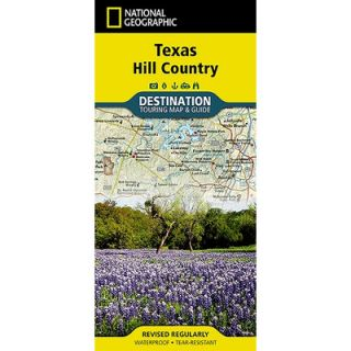 National Geographic Maps Texas Hill Country Map