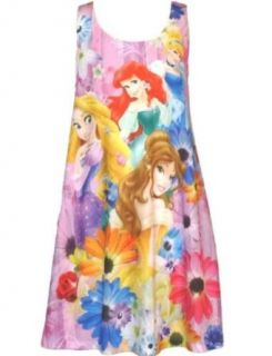 Disney Girls Princess in the Garden Allover Print Dress Clothing