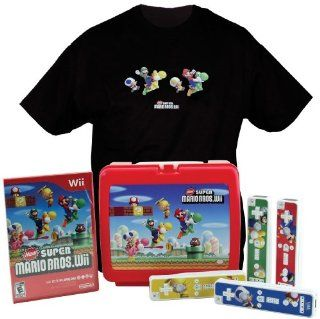 New Super Mario Bros Wii Special Edition Gift Set Nintendo Wii Video Games