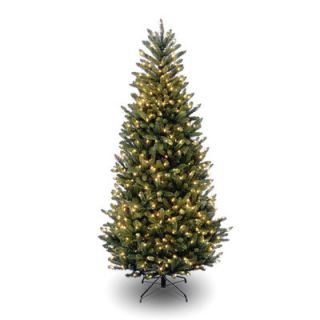 National Tree Co. Natural Fraser 7.5 Green Slim Fir Artificial