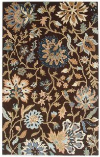 Safavieh Jardine Collection JAR724A Handmade Brown Wool Area Runner, 2 Feet 3 Inch by 8 Feet