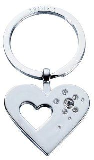 Troika Girls Best Friend Heart Keyring with Swarovski Elements (KR730CH)  Key Tags And Chains