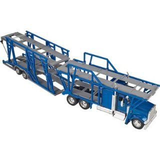 New Ray Die Cast Truck Replica   International 9900IX Double Deck Car Carrier, 132 Scale, Model# 13473 Toys & Games