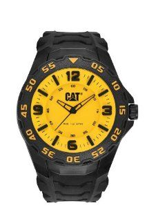 CAT Watches   Motion   3D Dial   Yellow/Black/Black Caterpillar CAT Watches