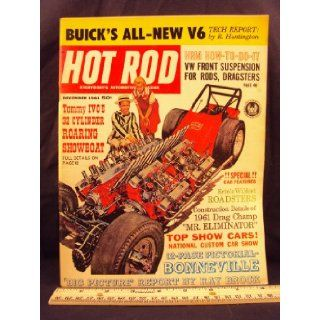 1961 61 DEC December HOT ROD Magazine, Volume 14 Number # 12 Petersen Publishing Co. Books
