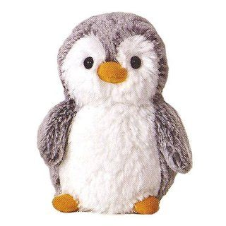 "Aurora Plush Stuffed Mini Pompom Penguin Animal Kids Gift 6"" Toys & Games"