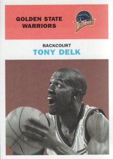 1998 99 Fleer Basketball Vintage '61 #68 Tony Delk Golden State Warriors NBA Trading Card at 's Sports Collectibles Store