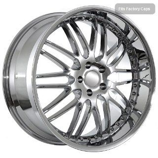 22 inch BMW Chrome Deep Dish Mesh Rims fit 6 7 Series Automotive
