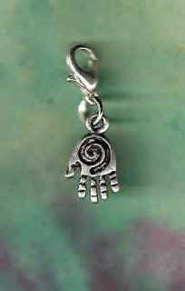 Pet or Horse Jewelry Silver Healing Hand Charm Dog Cat