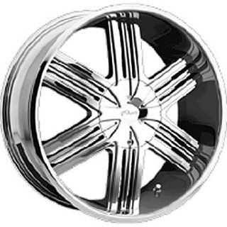 Pacer Luxor 20x9 Chrome Wheel / Rim 5x4.5 & 5x4.75 with a 15mm Offset and a 83.82 Hub Bore. Partnumber 779C 2900415 Automotive