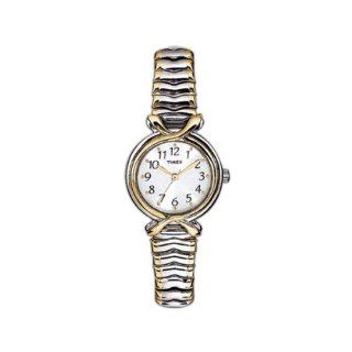 Timex T21854 Ladies Classic Two Tone Stainless Steel Watch Watches