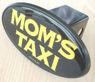 Mom's Taxi Novelty Trailer Hitch Cover Plug for Cars, Trucks, SUVs Automotive