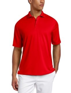 ZeroXposur Men's Delta Solid Golf Polo, Cherry, Small at  Men�s Clothing store Polo Shirts