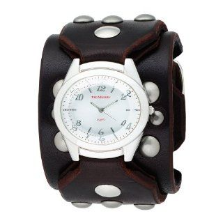 Red Monkey Designs Men's RM788G JA3 Sin City 3 Brown Leather Silver Dial Watch at  Men's Watch store.