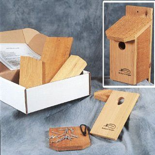 Backyard Designs ~ Bluebird House Kit ~ Western Red Cedar ~ Approved by North American Bluebird Society  Bird Houses  Patio, Lawn & Garden