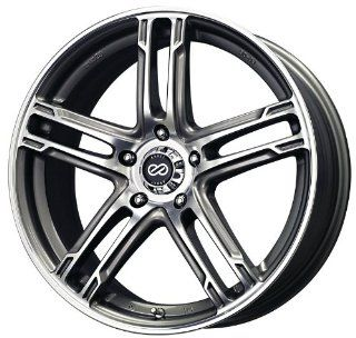 "Enkei FD 05  Performance Series Wheel, Black Machined (17x7""   5x112, 50mm Offset) One Wheel/Rim Automotive"