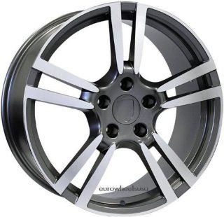 "20"" Wheels Set For Porsche Cayenne Includes Four Rims and Caps Automotive"