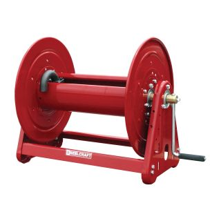 Reelcraft Heavy Duty Hand Crank 1 in. Hose Reel   100 ft.   Equipment