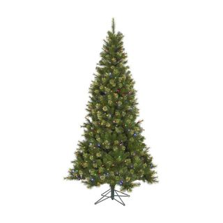 7.5 ft. Slim Jack Pre Lit LED Christmas Tree   Christmas Trees