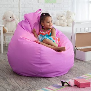Gold Medal Fashion Large Color Changing Vinyl Teardrop Bean Bag Chair   Bean Bags