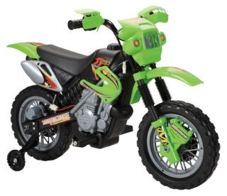 Fun Wheels Dirt Bike Motorcycle Battery Powered Riding Toy   Battery Powered Riding Toys