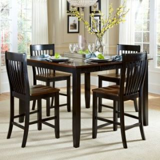 AHB Ellington 5 Piece Counter Height Dining Table Set   Dining Table Sets
