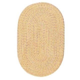 Colonial Mills West Bay Chenille Indoor/Outdoor Braided Area Rug   Banana   Braided Rugs