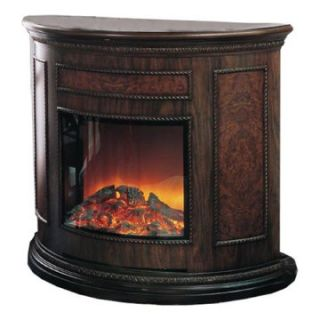 Yosemite Home Decor Alpine Wooden Electric Fireplace   Electric Fireplaces