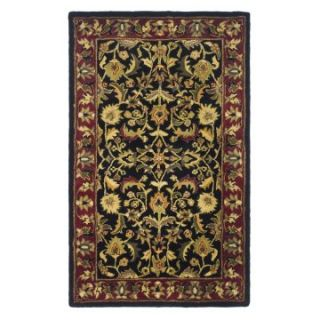 Safavieh Heritage HG953A Area Rug   Black/Red   Area Rugs