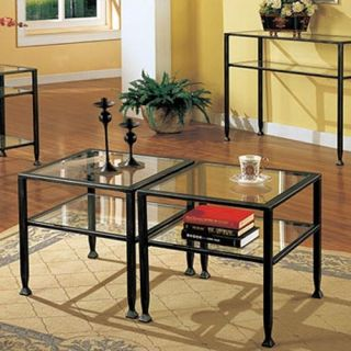 Black Bunch Metal Coffee Table   Coffee Tables