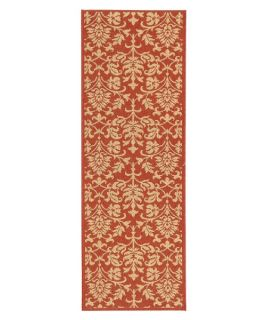 Safavieh Courtyard CY3416 Area Rug Red/Natural   Area Rugs