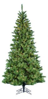 Sugar Pine Slim Pre lit Christmas Tree with Metal Base   Christmas Trees