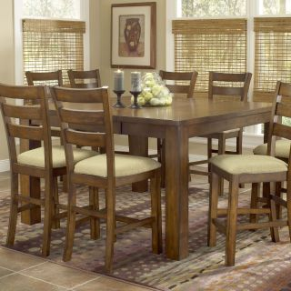 Hillsdale Hemstead Counter Height Table   Dark Oak   Dining Tables