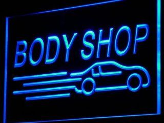 ADV PRO i821 b Body Shop Auto Car Display NEW Neon Light Sign