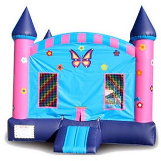 EZ Inflatables Butterfly Castle Jumper Bounce House   Commercial Inflatables