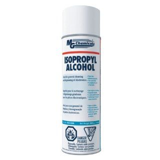 MG Chemicals 824 99.9% Isopropyl Alcohol Liquid Cleaner, 16oz Aerosol Can, Clear Soldering Tip Cleaners